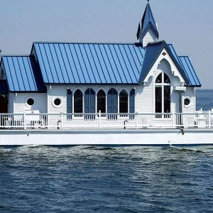 floating wedding chapel house