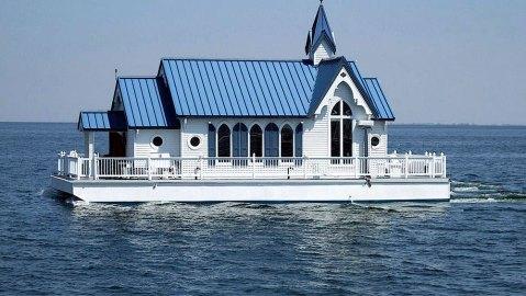 floating wedding chapel house
