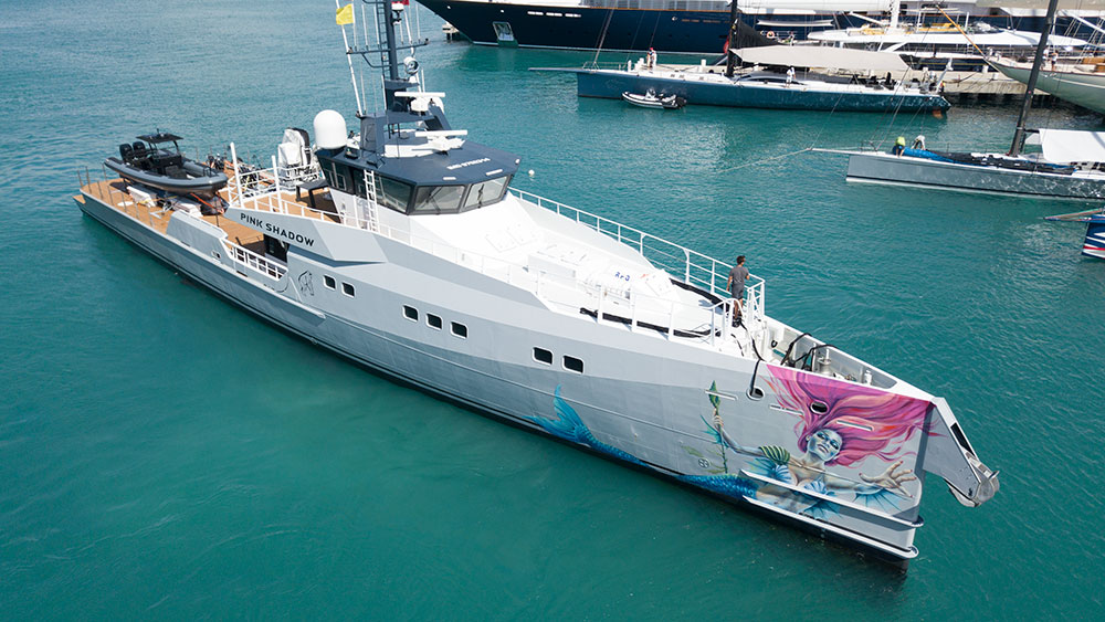 Baltic Yachts Pink Shadow
