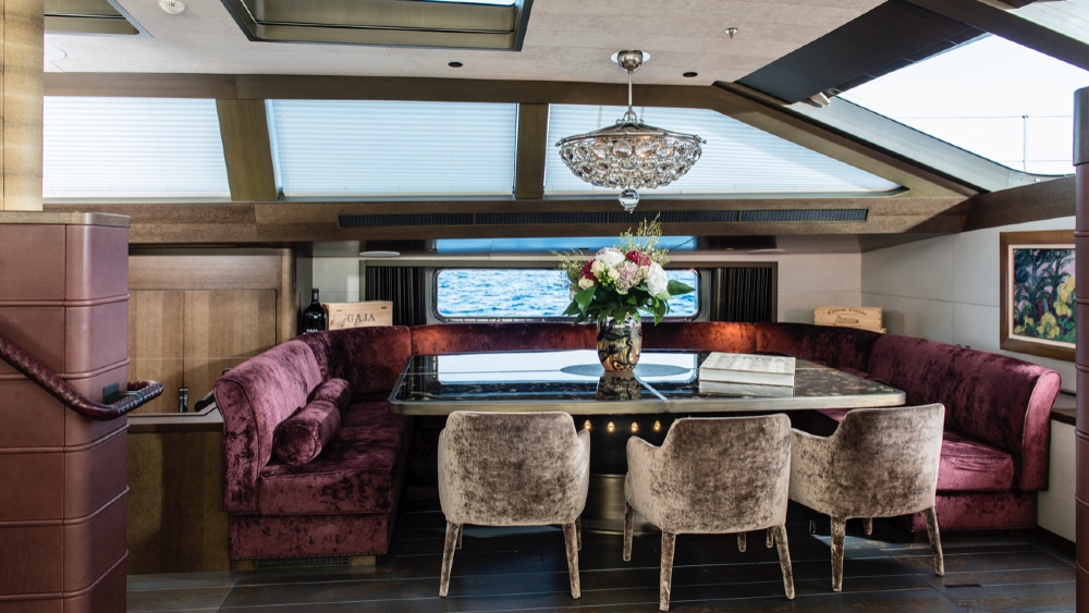 Superyacht à voile Pink Gin VI par Baltic