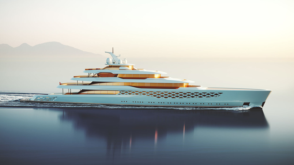 Feadship FG Megayacht Concept