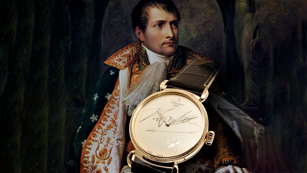 A Real Letter From Napoleon Was Used to Place His Signature on This Golay-Spierer Timepiece