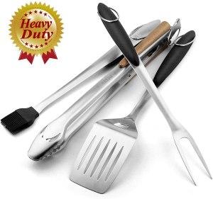 Grillart Heavy-Duty BBQ Grill Tool Set