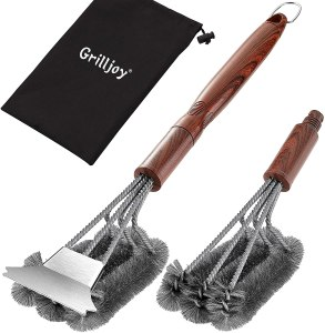 Grilljoy Grill Brush and Scraper Set