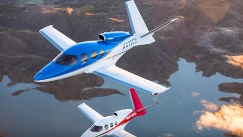 Cirrus Jet VisionAir Concierge Program