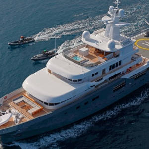 Superyacht Planet 9 Stars in Chriistopher Nolan Blockbuster
