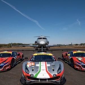 Ferrari Vista Jet Partnership