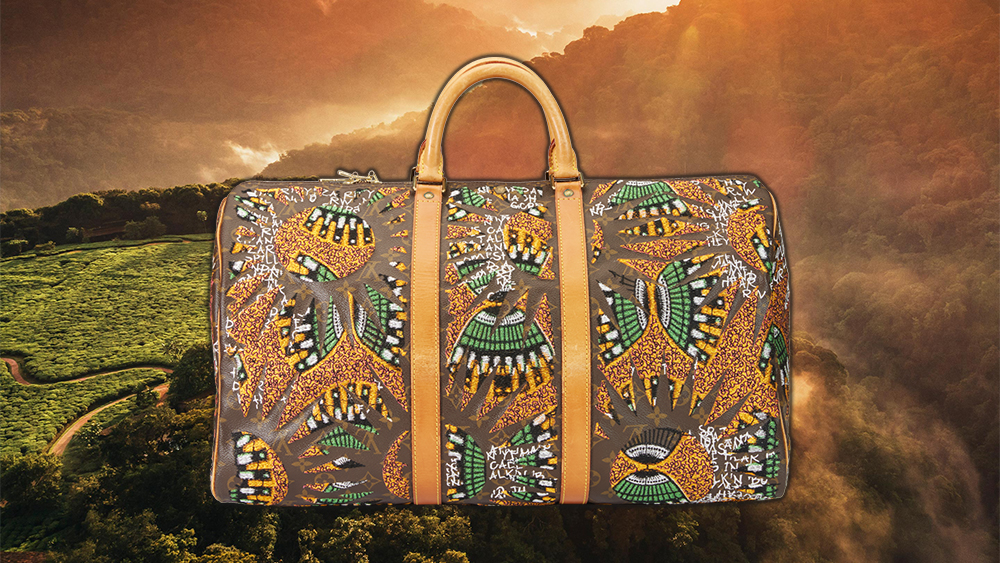 The Rwanda inspired 'Million Voices' bag