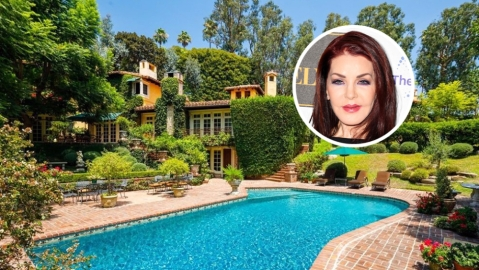 Priscilla Presley Beverly Hills home