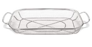 Salmon Store Stainless Steel Grill Basket