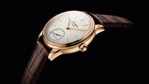 Glashütte Alfred Helwig flying tourbillon