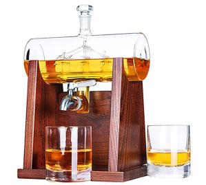 Jillmo Whiskey Decanter Set