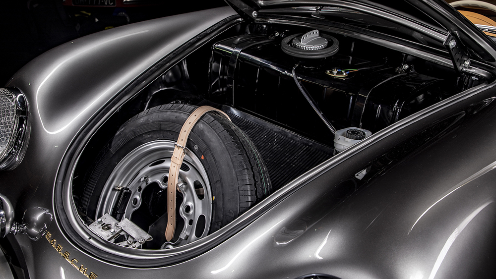 Serge Heitz 1958 Porsche 356A Speedster