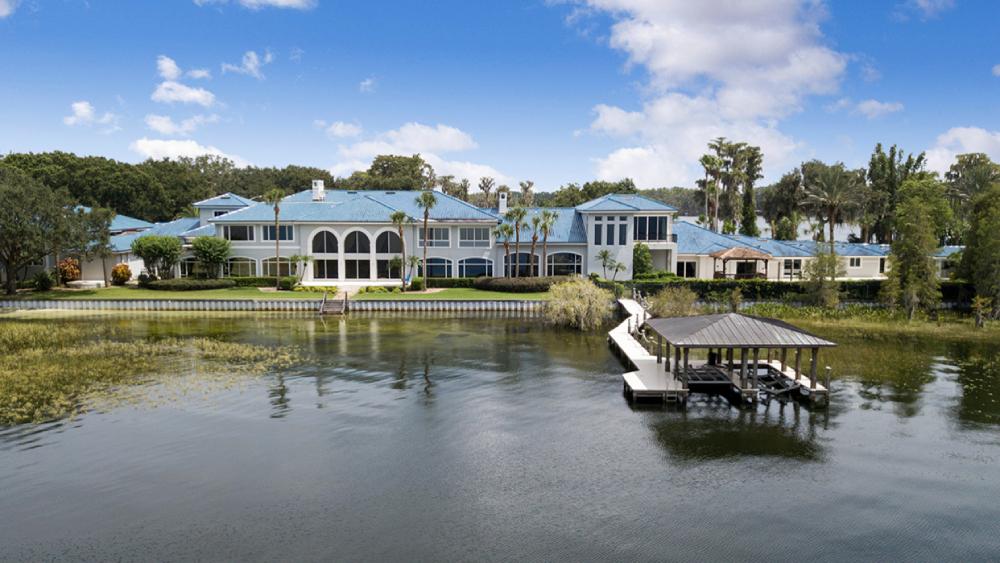 Shaquille O'Neal Florida mansion