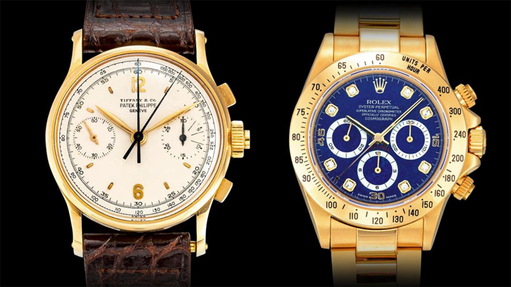 Sotheby's Important Watches Sale Patek Philippe and Rolex