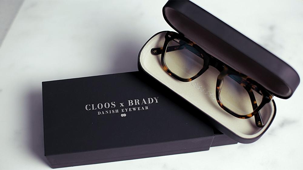 The blue light blocking eyeglasses from Close x Brady