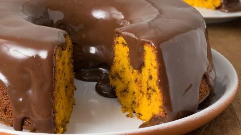 brazilian carrot cake chocolate