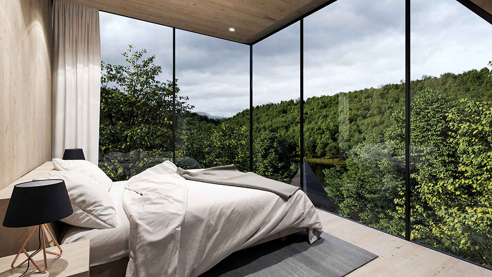 Treehouses West Virginia Peter Pichler Architecture