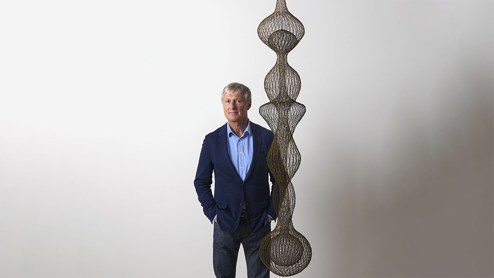 Zwirner with Ruth Asawa Untitled