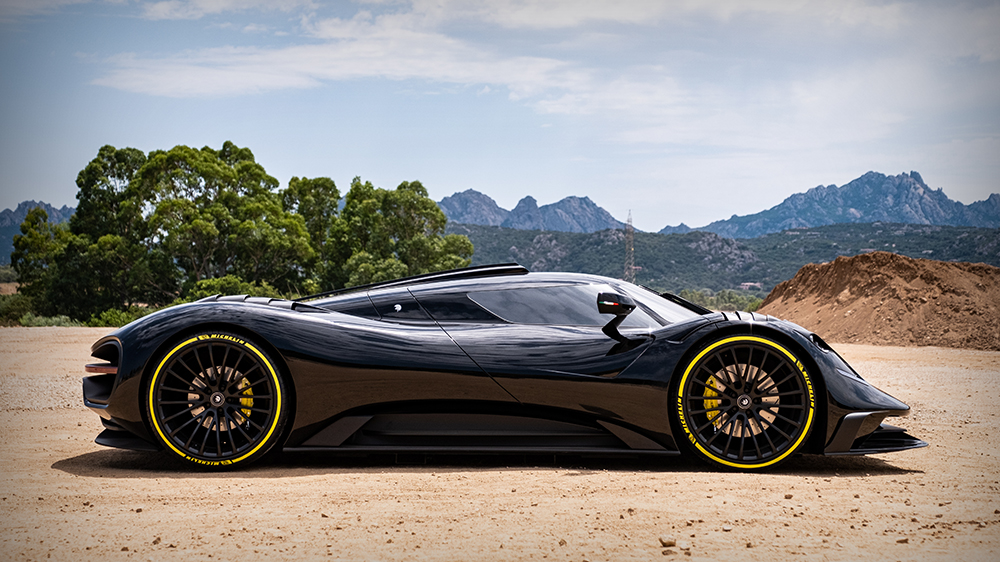 Ares Design S1 Project Supercar