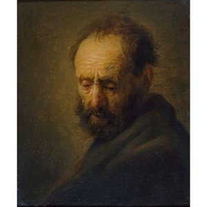 'Head of a Bearded Man' (1630)