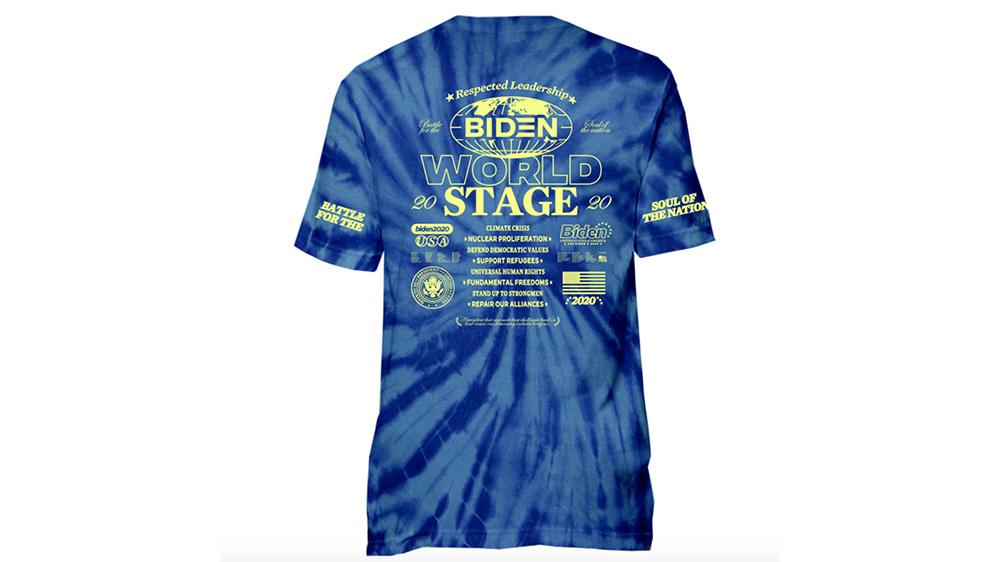 Tie Dye Biden Concert Tee by Joe Gomez