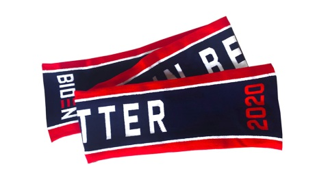 Believe in Better scarf by Thom Browne