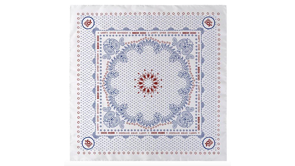White Floral Bandana Scarf by Joseph Altuzarra