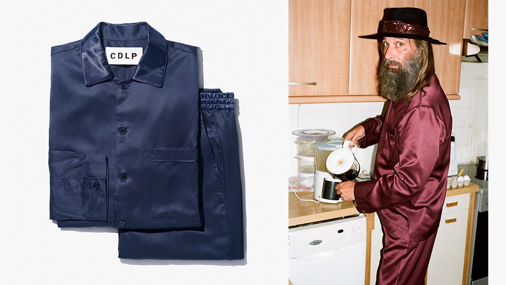 The CDLP Home Suit Long, worn by Sébastien Tellier.