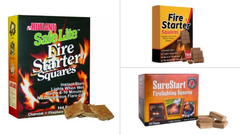 Fire Starter Squares, Amazon