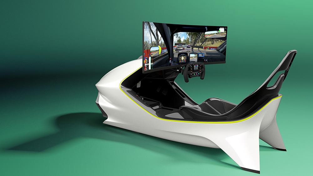 Curv Racing Simulators x Aston Martin AMR-C01