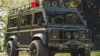 Land Rover Defender Van Concept