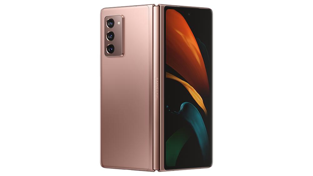 Samsung Galaxy Z Fold2 in Mystic Bronze