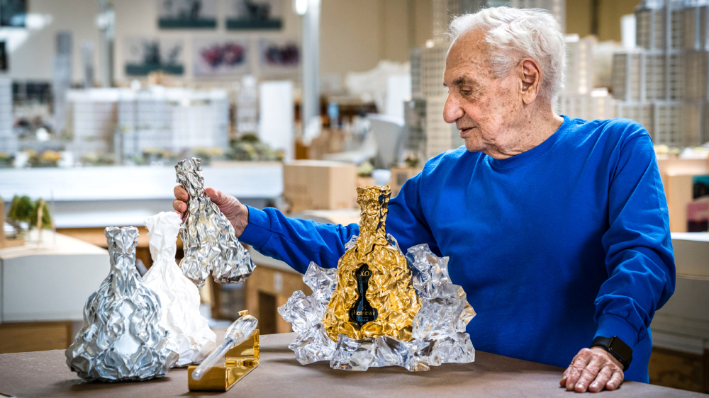 Frank Gehry Hennessy anniversary