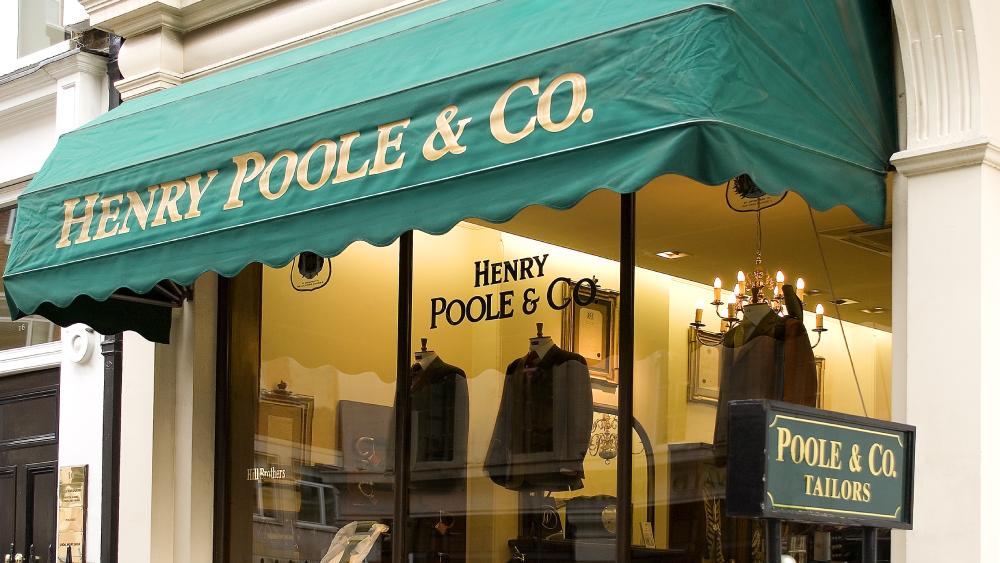 Henry Poole Savile Row