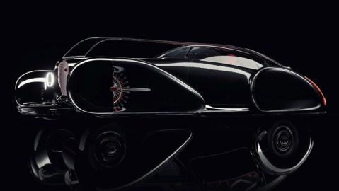 Bugatti 1930s Type 57 SC Atlantic Coupé Concept Car