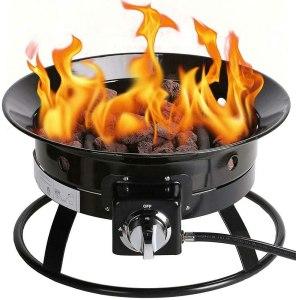 Kinger Home Portable Propane Fire Pit