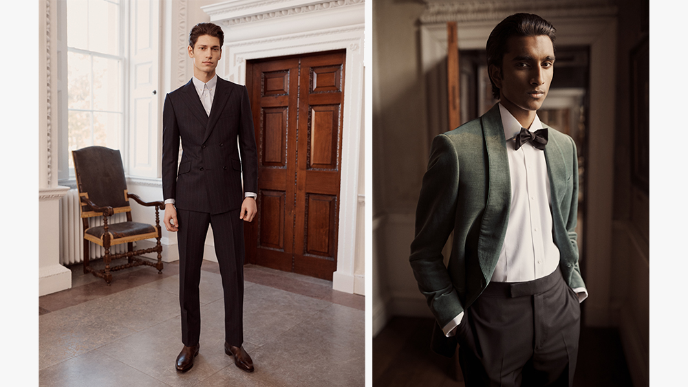 Tailoring from the new Kingsman collection.