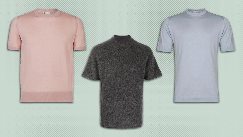 Knit T-shirts by Connolly, Jacquemus and John Smedley
