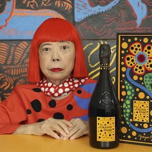 Veuve Clicquot x Yayoi Kusama La Grande Dame 2012