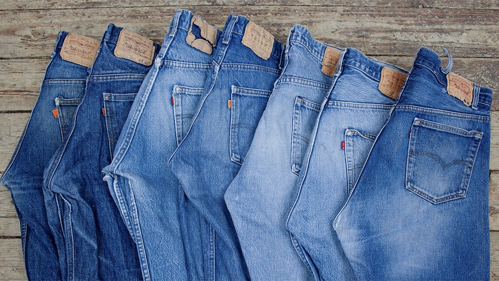 Vintage jeans from Broadway & Sons.