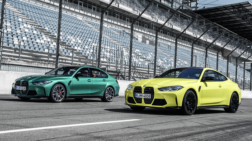 The New, and Boldly Angular, BMW M3 and M4 are Here – Robb Report