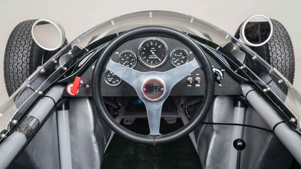 Steve McQueen 1961 cooper t56 race car