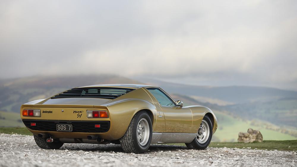 1971 Lamborghini Miura P400 SV Speciale