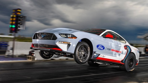 All-Electric Mustang Cobra Jet 1400 Prototype