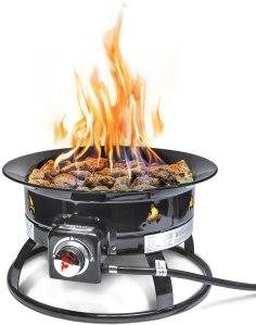 Outland Firebowl Deluxe Outdoor Portable Propane Fire Pit