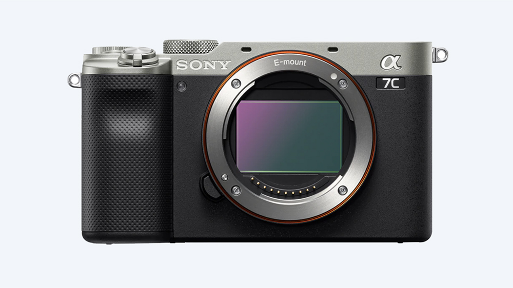 Sony Alpha 7C camera without a lens equipped
