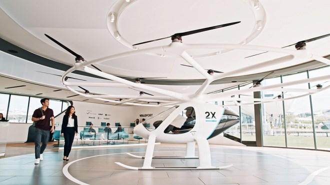 Volocopter's VoloCity air taxi