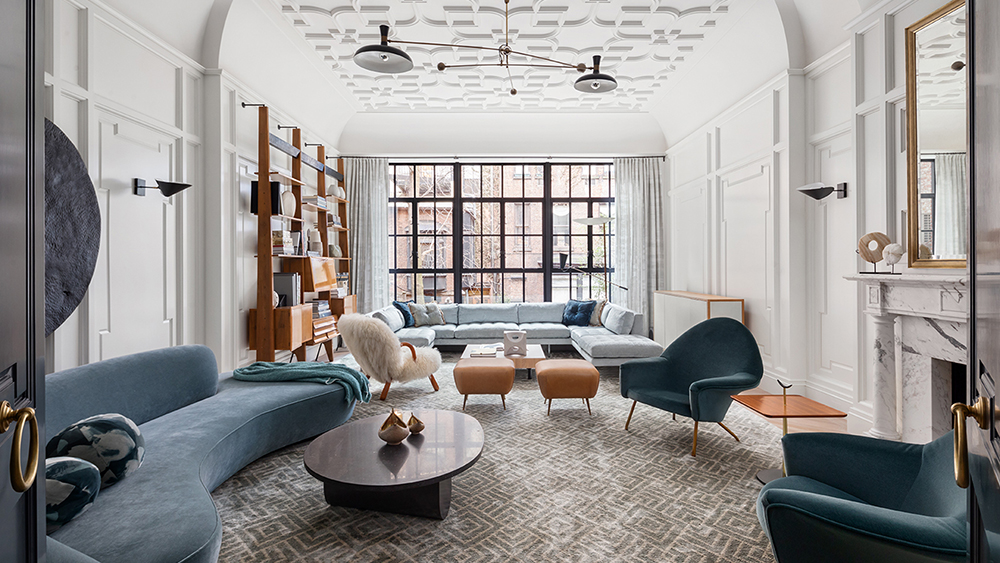 Home Tours: This Design-Savvy $28.5 Million Manhattan Townhouse Brings Open, Airy Space Downtown