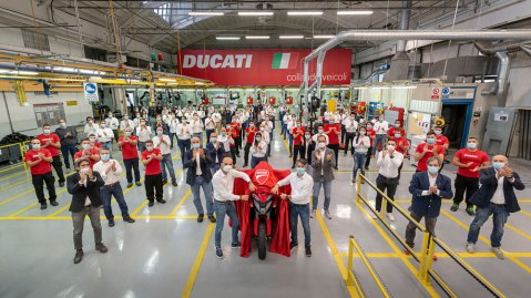 Soon to be unveiled, Ducati's new Multistrada V4 has built-in radar.